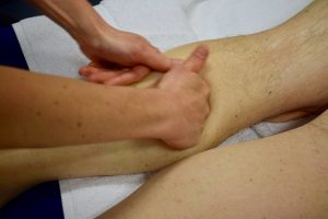 Calf-massage