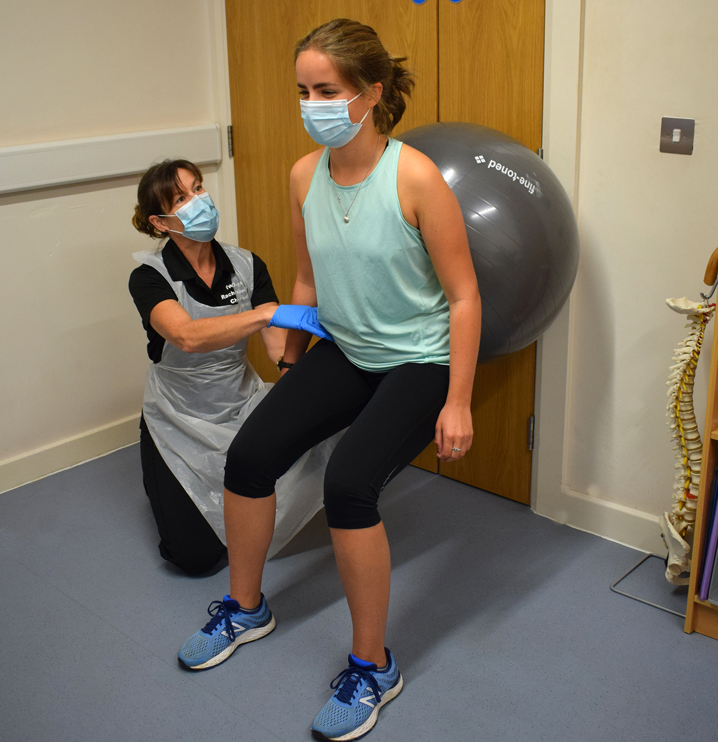 Ball physiotherapy